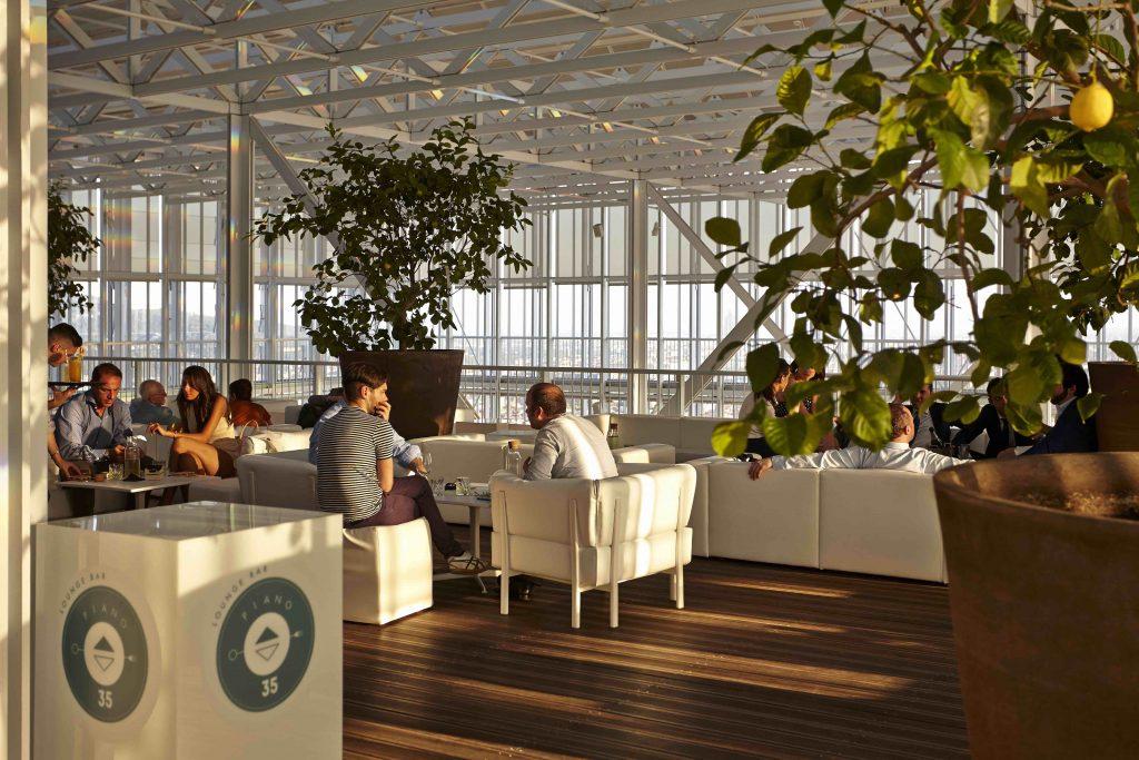 lounge bar grattacielo san paolo