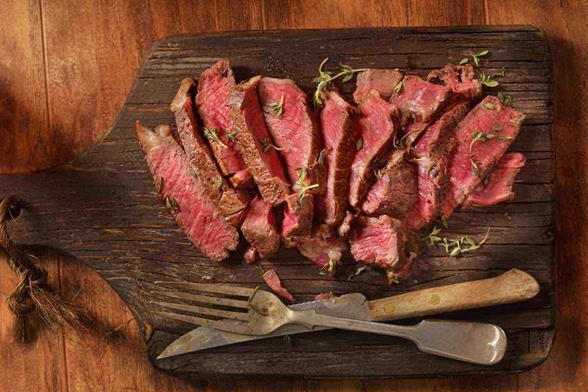 Tutti i segreti per la tagliata di carne for Cucinare entrecote